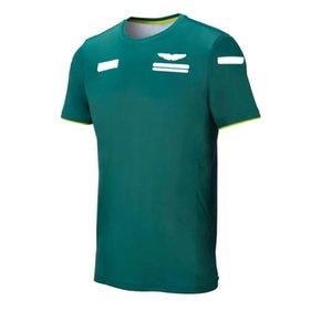 F1 Formel 1 Rennanzug Kurzarm T-Shirt Team Anzug Auto Fans Kundenspezifische Sportfreizeit Rundhalsausschnitt Schnelltrocknendes T-Shirt Top