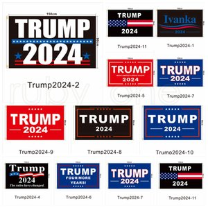 Trump Election 2024 Trump Keep Bandiera 90 * 150 cm America appesa Great Banner 3x5ft Stampa digitale Donald Trump Flags Decor RRB5709
