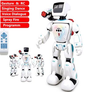 Hydropower Robot Touch Sensor Voice Gesture Control High Simulation Walking Dance Singing Fire Bullet Battle Smart RC Robot Toys