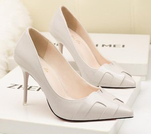 2022 Chaussures Femme Pompes Confort Femmes High Talons Office Stiletto Sexy Party Footwear Robe