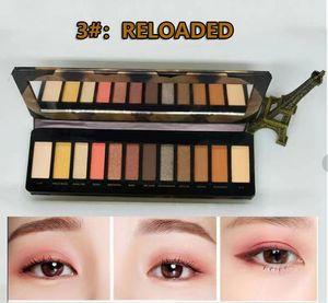 12color eye Shadow palette Matte reloader eyeshadows with Makeup Brush eyeshadow
