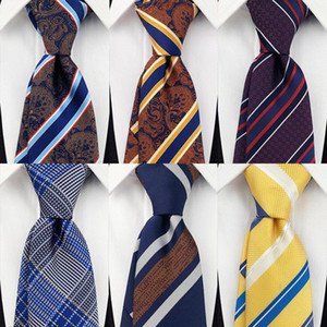 Neck Ties Sitonjwly Striped For Mens Groom Business Necktie Wedding Party Boys Girls Tie Women Neckwear Male