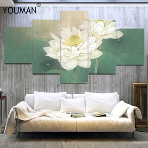 Modern PVC wall covering green style European lotus 3D wall stickers TV bedroom wall decoration living room poster decoration C0927