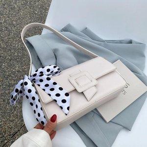 Небольшие сумки женские 2021 летний стиль модный дизайнер подмышечный мешок текстуры одно плечо портативный квадратный крест