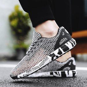 Sandals Design Chain Armor Hollow Out Man Shoes Outdoor Summer Air Mesh Fashion Footwear Multifunction Novelty White For Men