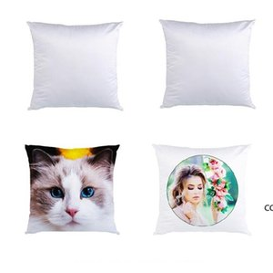 3 Sizes Sublimation Pillowcase Double-faced Heat Transfer Printing Blank Pillow Cushion Without Insert Polyester Pillow Covers DHE9984