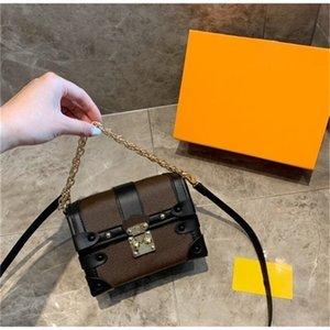 Гутая плечо 2021 сумки дизайнеры роскоши кошельки рюкзаки ключей цепочка кошелек клавиатура милые сумки модные сундуки с коробкой 1