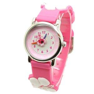 gift watch 3D silicone cute cartoon waterproof children's Watch