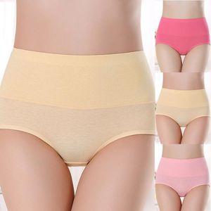 Women's Panties Sexy Ladies Cotton Mesh Thongs String Lingerie Fashion High-rise Women Underwear Seamless Briefs 1pcs Elastic