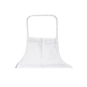 Heat Transfer Kitchen Apron Polyester Home Sublimation Blank Half Length Sleeveless Aprons DIY Creative dysoon 70*48CM 50% off