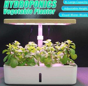 Desk Hydroponic Indoor lights Herb Garden Kit Smart Multi-Function Growing Led Growth Light for Flower Vegetable Plant
