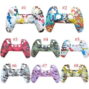 32 Colors For PS5 Controller Gamepad Silicone camouflage case Non-slip Protective Environmentally Friendly Fast delivery