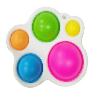 Sensory Dimple Pop It Fidget Brinquedos Presentes Para idades 12 Meses e Up Educação Antecipada Intensivo Aprendizagem Crianças Brinquedos Release Stress Ansiedade