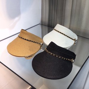 Women summer Hats & Cap fashion Visors camellia style 3colors Luxury Brand