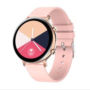 Basit İş Tarzı Tam Dokunmatik Akıllı İzle Bilezik IP68 Su Geçirmez Bluetooth Müzik Çalar Watche Uzaktan Kamera Çağrı Renk Arama Mens Womens Smarwatch