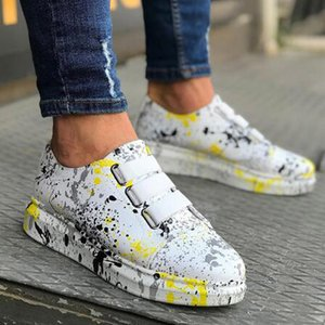 PU leather business casual shoes fashion loafers walking shoes Tenis Feminino