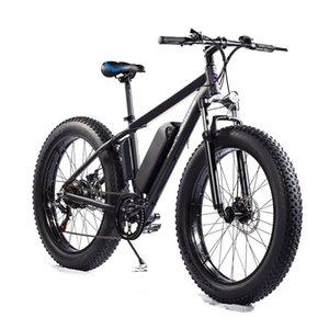 [ЕС US stock] Электрический велосипед S101 500W Мопед MTB 26 дюймов E-Bike Дисковой тормозные тормозные 12ah 48V 32 км / ч 7speed 70km горный велосипедный велосипед