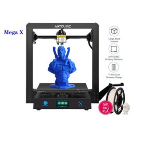 Anycubic Mega-x desktop-level home 3D printer with large size and high precision Z-axis double screw design MEAN WELL power supply