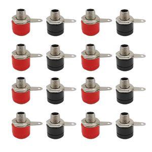 BNC Connector 4mmBanana Binding Post Red and BlackConnector 4mm Banana Socket Female Jack DIY Adapter