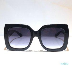 인기있는 여성 패션 선글라스 스퀘어 여름 스타일 전체 프레임 최고 품질의 UV 보호 0083S 선글라스 혼합 색상 상자