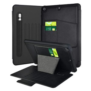 For iPad 8th 7th Generation Case Protective Smart Cover with Auto Sleep Wake & Pencil Holder Compatible 10.2 inch Gen