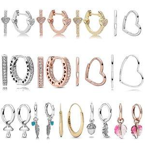 925 Sterling Silver asymmetric allure soul feather careful pendant plate fashion women jewelry gift
