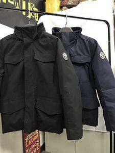 Napa Daunenjacken Bomber Jacke Winter Retro italienische Trenddesigner Männer S Kleidung Hohe Qualität Marke Mantel Mode Hombre