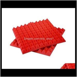 Hotwave 50*50*5Cm Recording Studio Pyramid Shape Acoustic Sound Reduction Foam Panel P4P33 2Wcvu