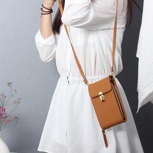 Cross Body Mini Handbag Women's Mobile Phone Bag Diagonal Small Rotating Buckle Messenger