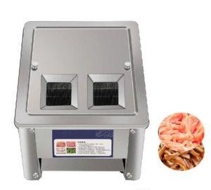 150kg / h معالجة الغذاء التلقائي اللحوم الكهربائية قطع الخضار قطع آلة كتلة التجاري القطاعة القاطع السعر