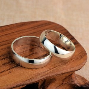 Couple S999 Pure Silver Ring for Male and Female Students