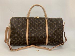 LOUIS VUITTON GG YSL Bag VUTTON luxury fashion men women travel bag duffle bag, brand designer pu Leather luggage handbags large capacity sport 54CM