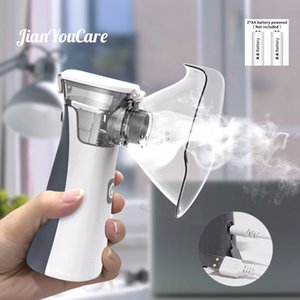 medical Portable silent nebulizer Mini self cleaning Handhold inhalator for kids Adult Atomizer mesh Asthma inhaler inhalador