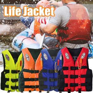 Adults Life-jacket Aid Vest Kayak Ski Buoyancy Fishing Boat Watersport Universal Windsurfing Surfing Swimming Boating
