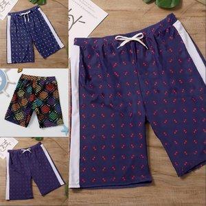 2021 Haute Qualité Hommes Beach Shorts Mens Gym Sports Mince Casual Pantalon Court Courtimé Mâle Taille M-3XL