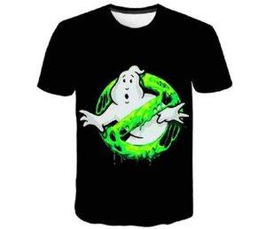 2021 Polyester Shirt Enfants Ghostbusters Movie Musique Ghost Busters Funny T-shirt Design Summer Tops Hauts et filles T-shirt décontracté