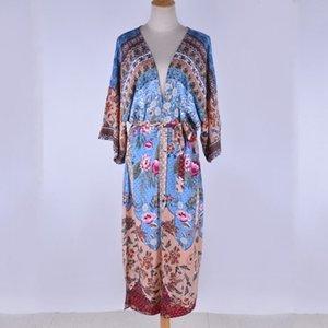 Смесители 2021 японские кимоно традиционные женщины длинные кимоно кардиган Cosplay блузка рубашка юката женское японское пляжное платье Haori Geisha