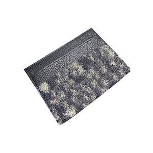Kadın Kart Sahibinin Erkekler Mini Cüzdan Avrupa Tarzı Para Çantalar Moda Klasik Cep Para Çantası Yüksek Kaliteli Kredi Kartları Sahipleri Siyah Küçük Cüzdan