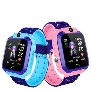 Sos inteligente Dropping Waterproof Ship para Kids Anti-lost Locator Reloj Smart visual Watch niños Telephone 21ss