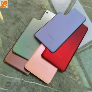 OME for Samsung Galaxy S21 Plus Back Battery Cover Rear Door Glass Housing+Adhesive Sticker+LOGO