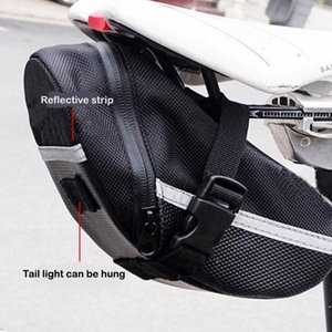 Cycling Bags Bicycle Tail Bag Back Waterproof Saddle Mountain Bike Cushion Equipment