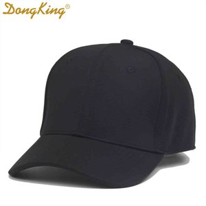 Dongking New Flex Baseball Caps Men Women Stretch Fitted Hats Elastic Cool Dry Sport Cap 5 Colors Closed Back Polyester Casual Q0326
