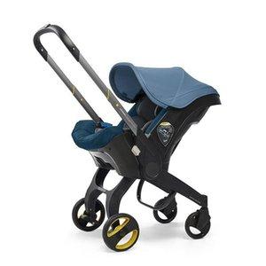 Kinderwagen # Autositzwagen geborener Babywagen Bassinet Wagen-tragbares Reisesystem
