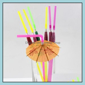 Barware Kitchen, Dining Home & Gardenmanual Paper Umbrella Cocktail Drinking Wedding Event Holiday Party Supplies Bar Decorations Disposable
