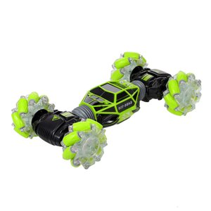 Rc Stunt Car 4WD Clock Born Sensor Control Modifiable Electric Remote Driving With Led Light For Kids Toy Toys Boys