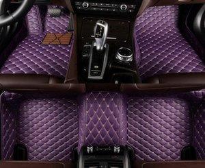 Tapis de plancher de voiture à 5 places personnalisés pour Toyota Land Cruiser Prado Prius Sienna Venza Venza Vios 2000 Tapis en cuir