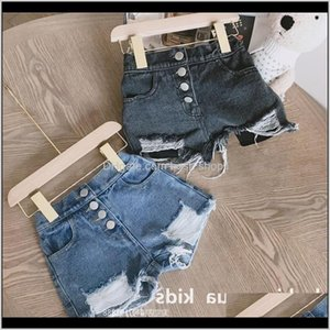 Sk Ins Girl Jeans Hole Pockets Style Summer Children Denim Short Pantalones Cortos Pant Dydgc 0Ns4R