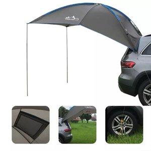 Auto Teching Teging Tent Прочный Водонепроницаемый Водонепроницаемый Устойчивый к слезу Автомобиль Навязчик на крыше Садья Контажные Анти-УФ-палатки для семейного пляжа на открытом воздухе