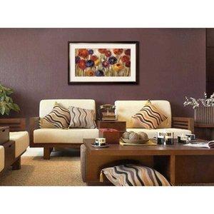 Картины Масло ручной работы от Silvia Vassileva Asters и Mums Абстрактное искусство цветы Высококачественная стена декор 9okl 9okl