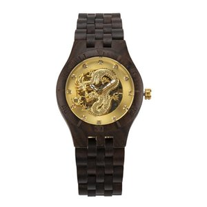 Wristwatches 2021 Sale Bewell Brand Watch Factory Sells Wood Business Men's Automatic Mechanical Sandalwood Band
